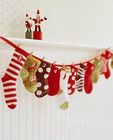 Advent sock