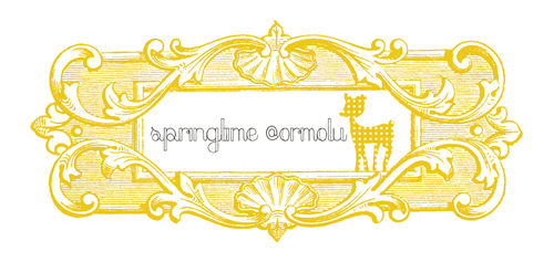 Sprintime at ormolu