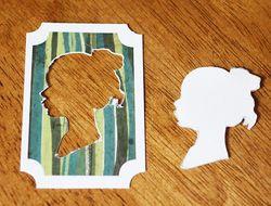 Silhouette cutout
