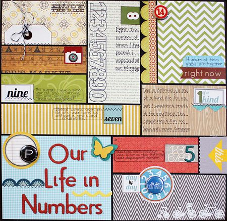 Our life in numbers