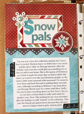 Snow pals page