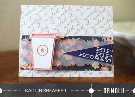 Kaitlin Sheaffer | Nailed It Card